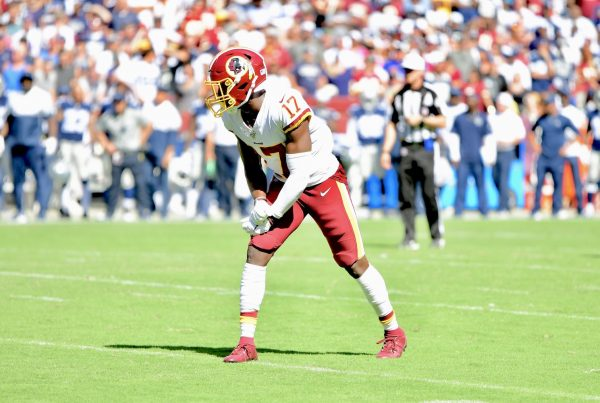 Washington Redskins Wide Receiver Terry McLaurin. Photo Credit: All-Pro Reels | Joe Glorioso | Under Creative Commons License