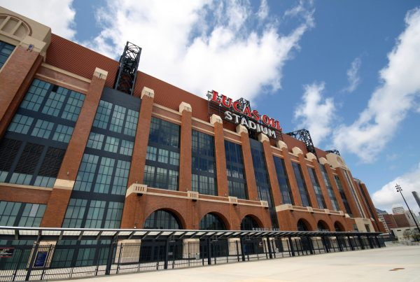 Lucas Oil Stadium. Photo Credit Intiaz Rahim | Under Creative Commons License