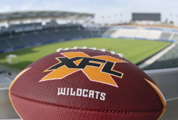 Los Angeles XFL Wildcats Football. Photo Credit: XFL Wildcats
