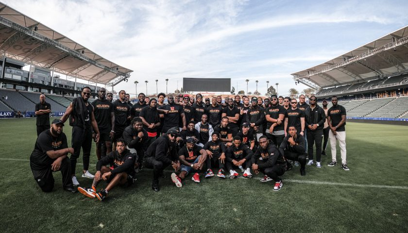 Los Angeles Wildcats Team Picture. Photo Credit: Kevin Carden   LA Wildcats