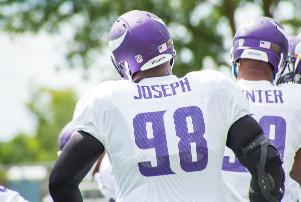 Defensive Lineman Linval Joseph. Photo Credit: Matthew Deery - Under Creative Commons License