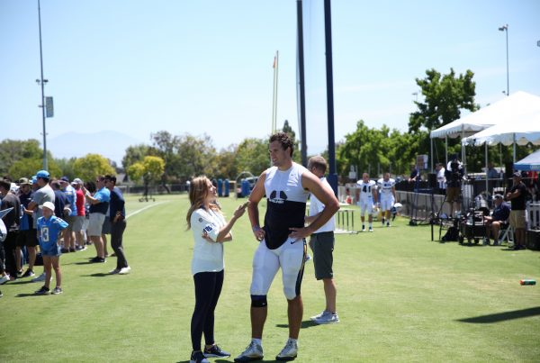 Los Angeles Chargers Tight End Hunter Henry. Photo Credit: Ryan Dyrud | LAFB Network