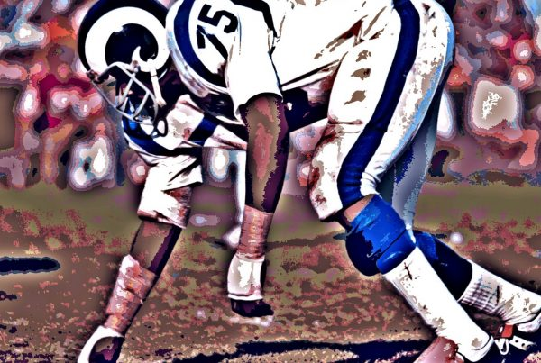 LA Rams Defensive Lineman Deacon Jones. Photo Credit: Peter Griffin | Creative Commons License