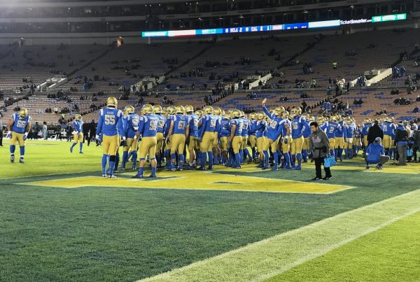 UCLA Bruins Pre-Game. Photo Credit: Ryan Dyrud | LAFB Network