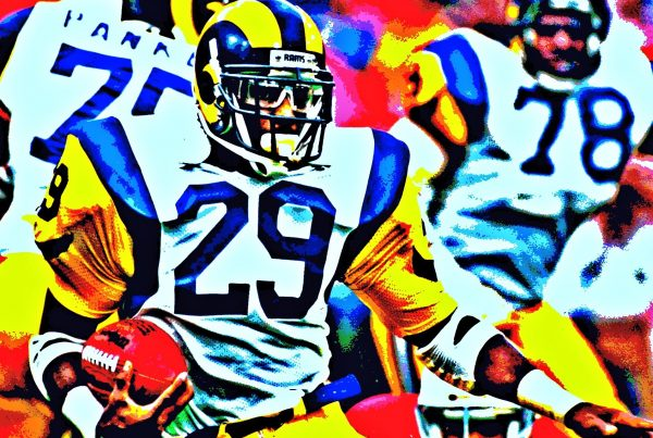 Hall Of Fame Running Back Eric Dickerson. Photo Credit: Peter Griffin | Creative Commons License